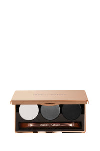 Nude by Nature 100% Natural Eyeshadow Trio - Smoky