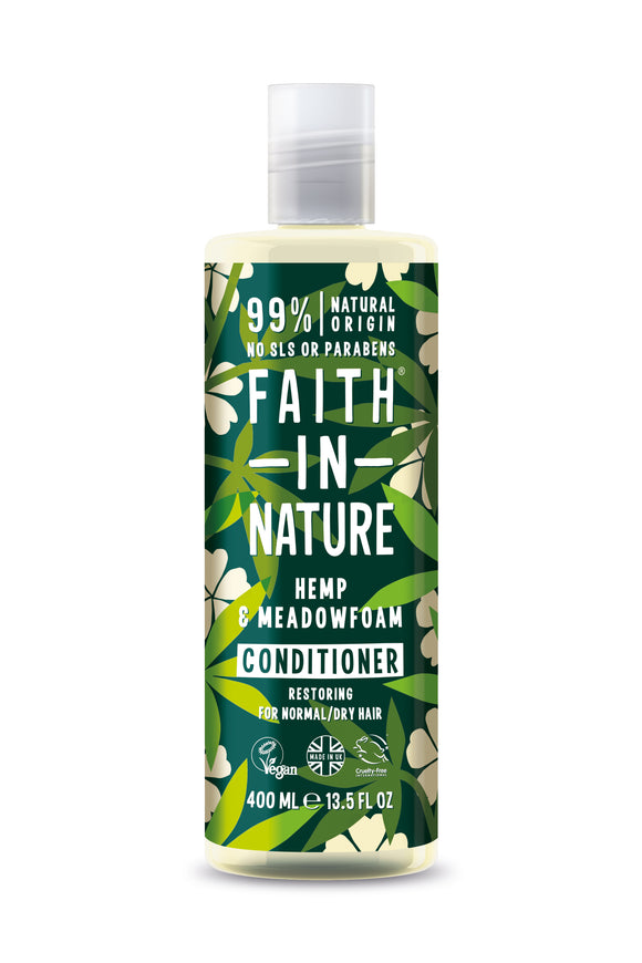 Faith in Nature Hemp & Meadowfoam Conditioner 400ml