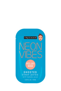 Freeman Neon Vibes Ghosted Clean Pores Peel-Off Mask 10ml