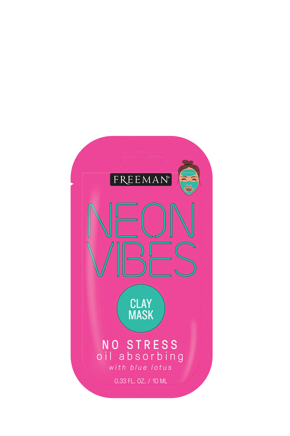 Freeman Neon Vibes No Stress Oil Absorbing Clay Mask 10ml
