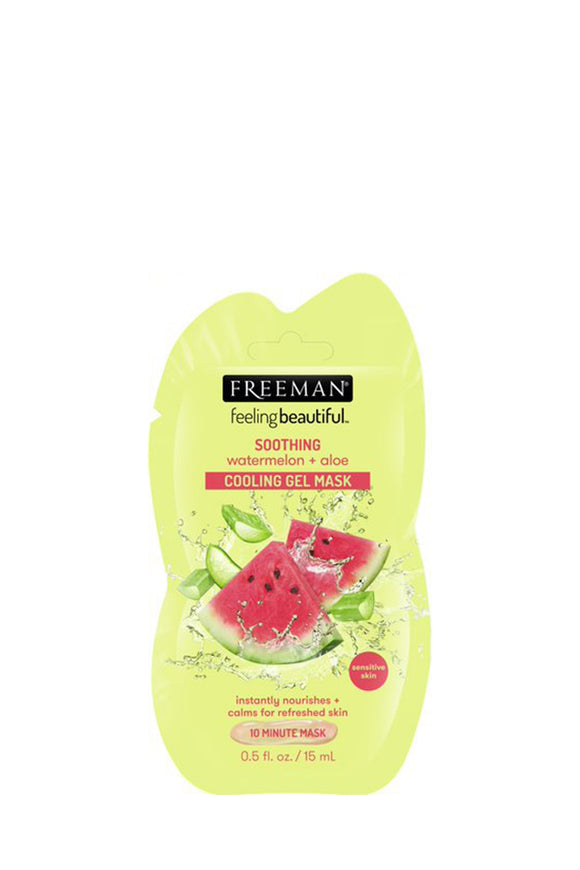NEW! Freeman Soothing Watermelon & Aloe Gel Mask Sachet 15ml