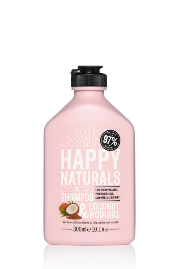 Happy Naturals Colour Care Coconut & Rooibos Shampoo 300ml