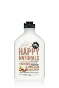 Happy Naturals Everyday Moisture Macadamia & Hemp Conditioner 300ml