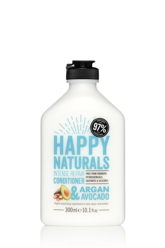 Happy Naturals Intense Repair Argan & Avocado Conditioner 300ml