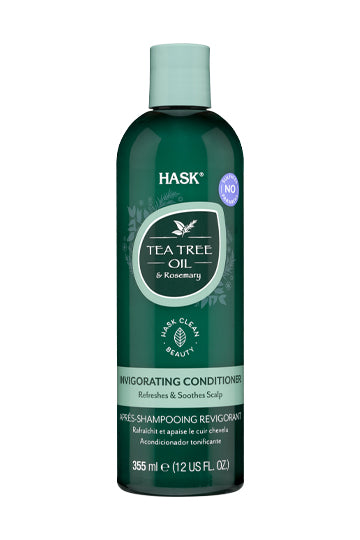 Hask Tea Tree Oil & Rosemary Invigorating Conditioner 355ml