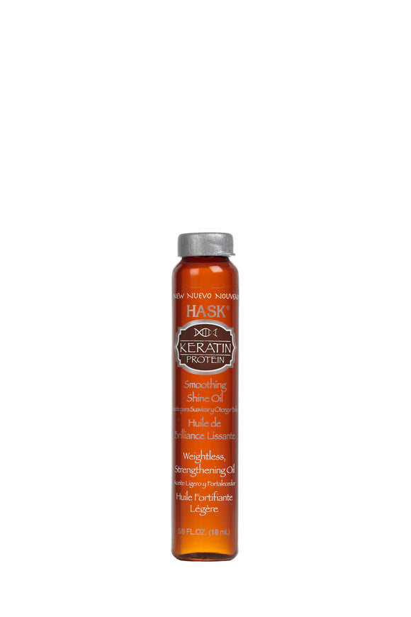 Hask Keratin Protein Smoothing SHINE® Oil 18ml
