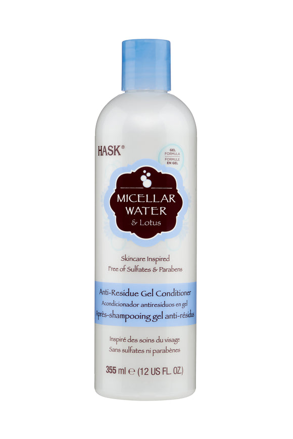 Hask Micellar Water & Lotus Conditioner 355ml
