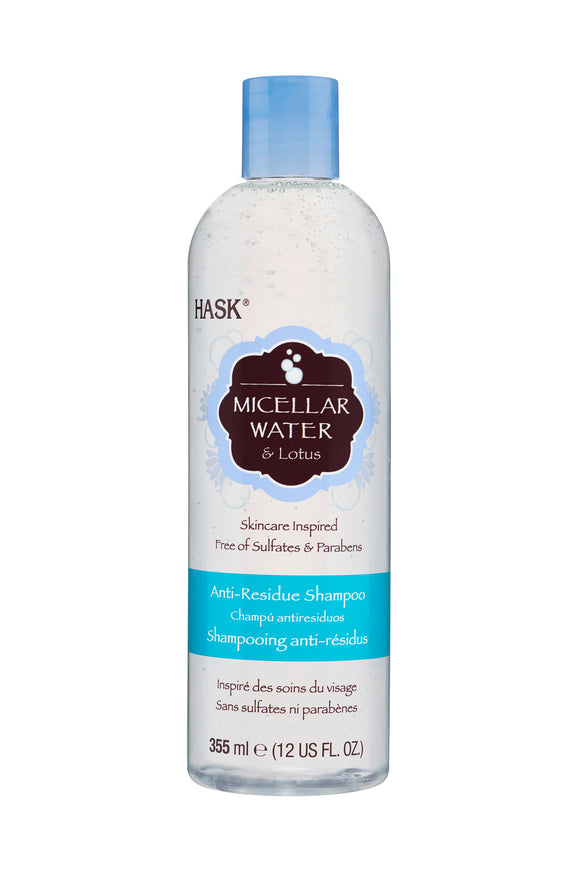 Hask Micellar Water & Lotus Shampoo 355ml