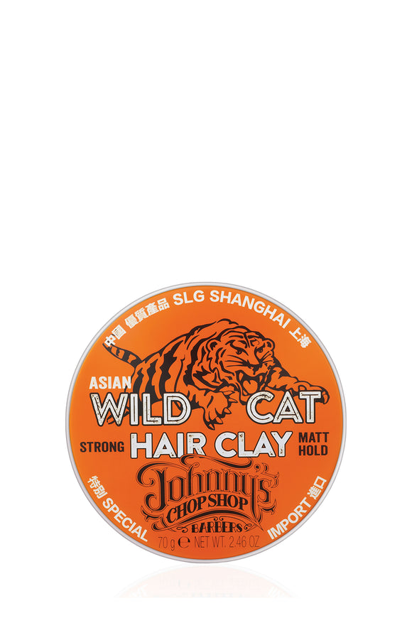 Johnny's Chop Shop Wild Cat Strong Matt Hold Clay 70gm