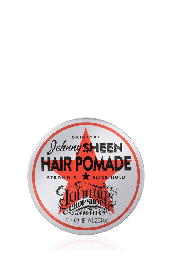 Johnny's Chop Shop Johnny Sheen Strong Hold Hair Pomade 75gm