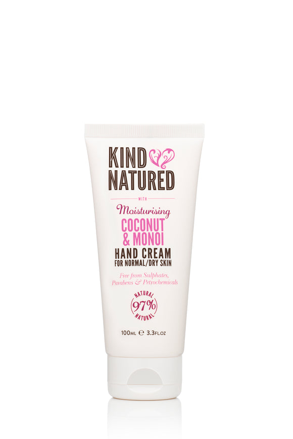 Kind Natured Moisturising Coconut & Monoi Hand Cream 100ml