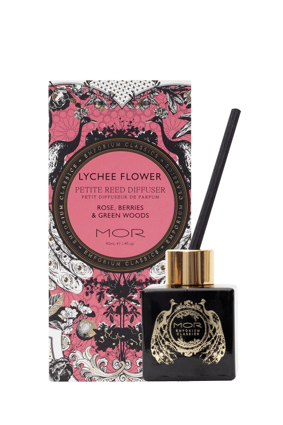MOR Lychee Flower Petite Reed Diffuser 40ml