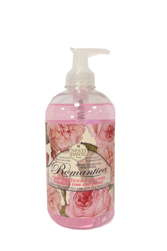 Nesti Dante Romantica Rose & Peony Hand Wash 500ml