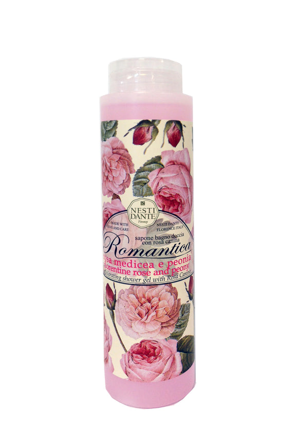 Nesti Dante Romantica Rose & Peony Shower Gel 300ml