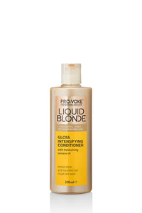 PRO:VOKE Liquid Blonde Gloss Intensifying Conditioner 200ml