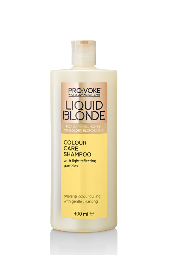 PRO:VOKE Liquid Blonde Colour Care Shampoo 400ml - USE ME DAILY