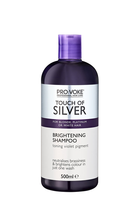 Provoke Touch of Silver Brightening Shampoo 500ml (USE ME ONCE A WEEK)