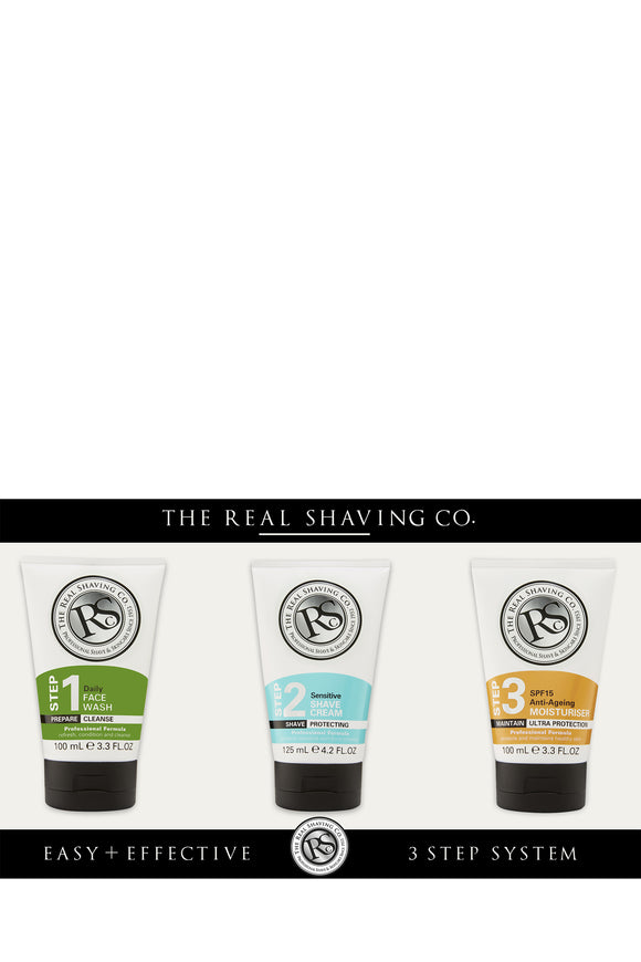 The Real Shaving Co. Sensitive Shave Collection