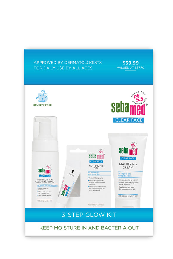 Sebamed Clear Face 3 Step Glow Kit