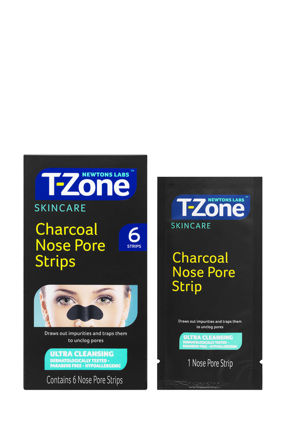 T-Zone Charcoal Nose Pore Strips (6)