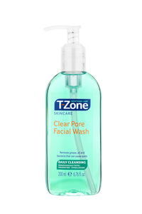 T-Zone Clear Pore Facial Wash 200ml