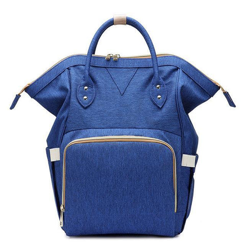 Ava Designer Nursing Bag by Amy&Rose-backpack-Amy&Rose-Blue-Amy&Rose