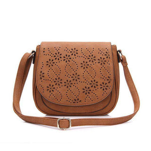 Emily Messenger Bag-messenger bag-AmyandRose-Brown New-Amy&Rose