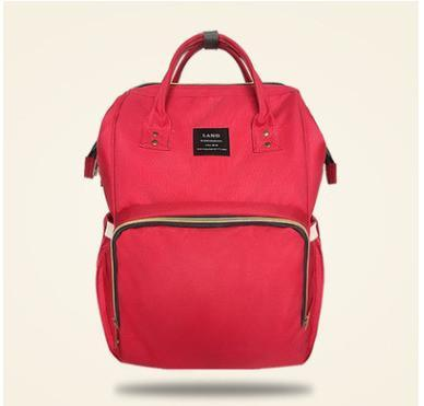 Fashion Mummy Maternity Nappy Bag-maternity-Amy&Rose-Red-Amy&Rose