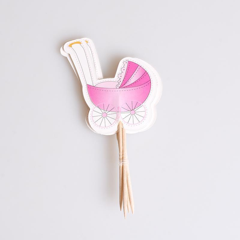 gender reveal cake cupcake topper fruit toothpick amy rose