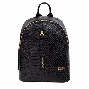 Gloria Women PU Leather Backpack-backpack-Amy&Rose-Pink-Amy&Rose