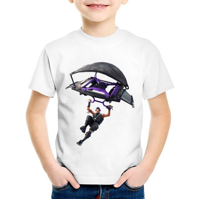 Kids Fortnite T shirt 3T-9T-kids-Amy&Rose-Glider-3T-Amy&Rose