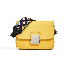 Penelope Messenger Bag-Amy&Rose-Yellow-Amy&Rose