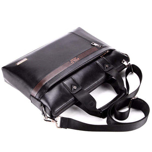 POLO Business Portfolio-messenger bag-Amy&Rose-14Iinch Black-Amy&Rose