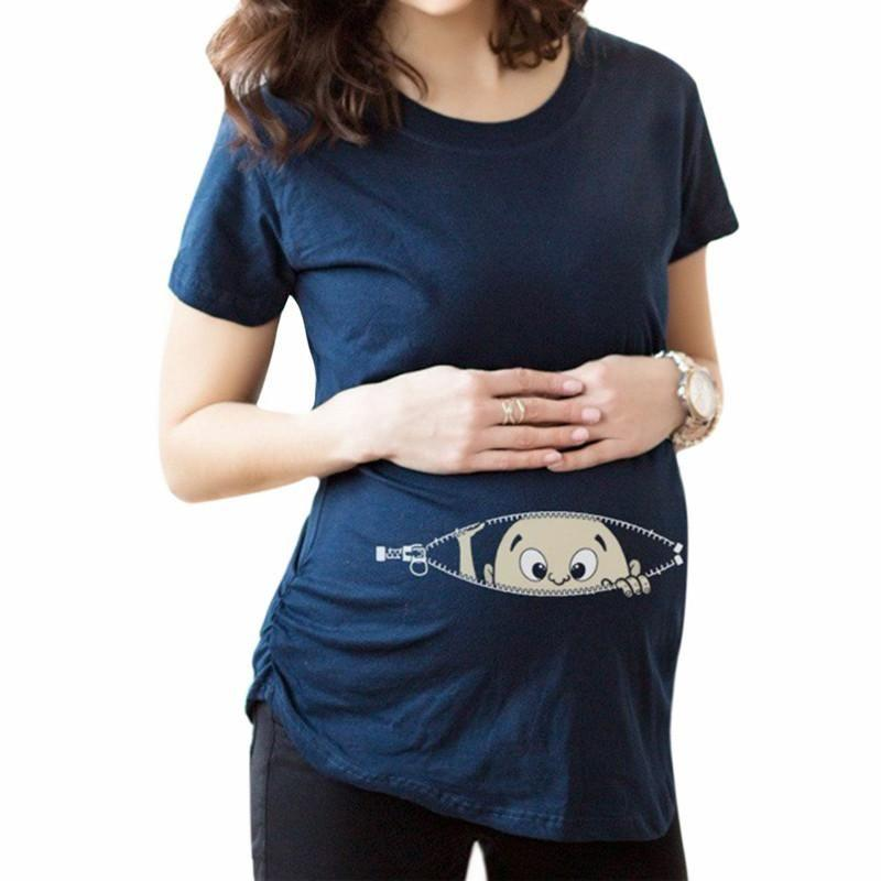 Pregnant Women T-shirt-maternity-Amy&Rose