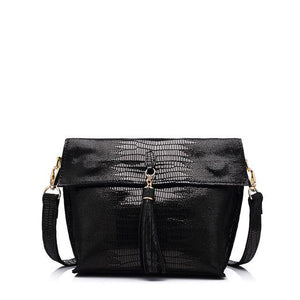 Sophia Messenger Bag-messenger bag-AmyandRose-Black-Amy&Rose
