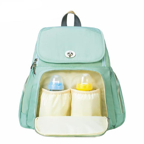 Trendy Mummy Maternity Diaper Backpack-Amy&Rose-green-Amy&Rose