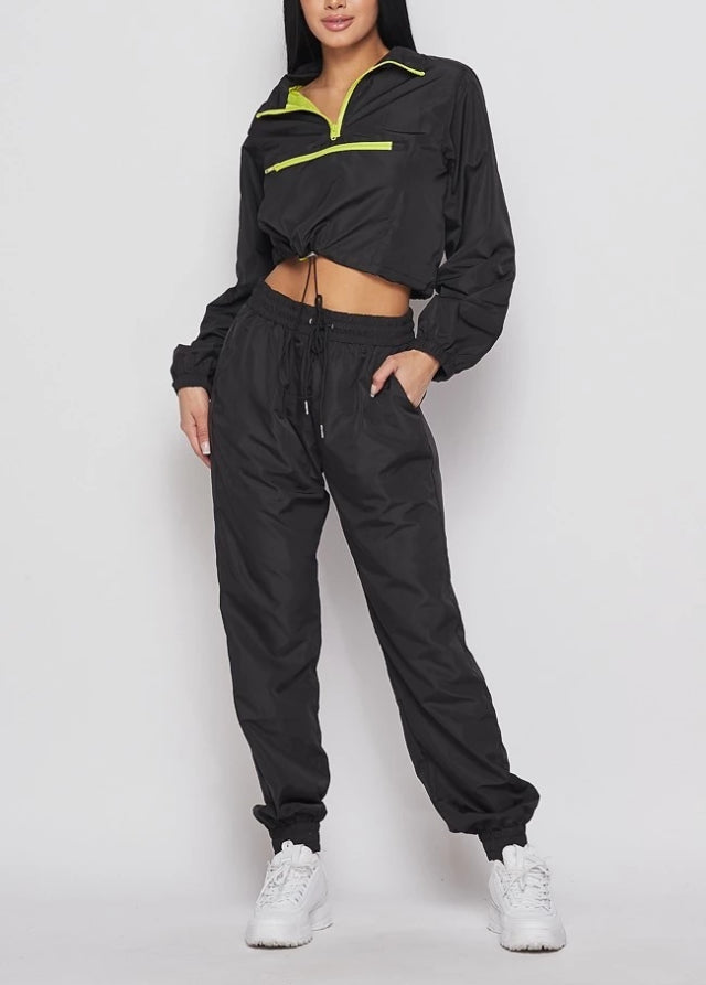 Bleon Pullover Windbreaker Tracksuit