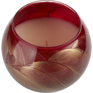 Cranberry Globe Candle