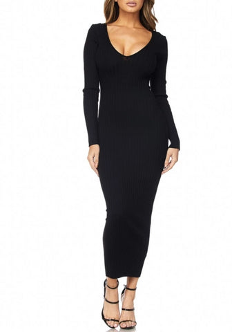 Raven Maxi Sweater Dress