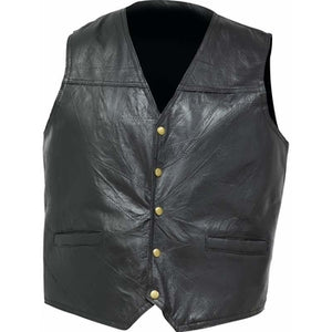 Italian Stone Design Genuine Leather Concealed Carry Vest
