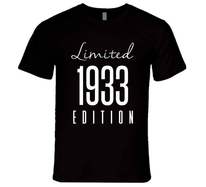 Limited Edition 1933 T-Shirt