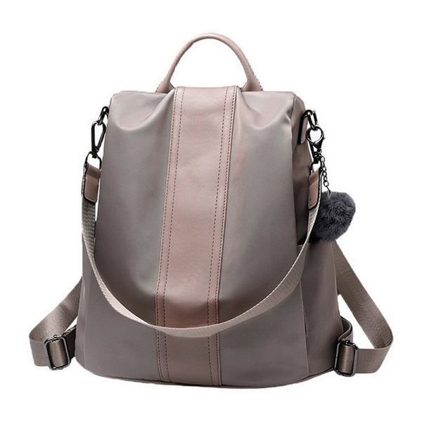 Neutral Waterproof Nylon Backpack