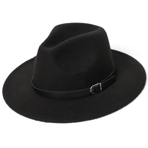 Bounty Hunter In Black Fedora Hat