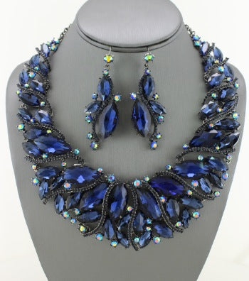 Marquis Collar Necklace Set
