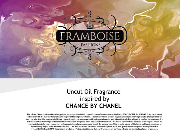 Uncut Oil Fragrance Inspired By~CHANEL CHANCE