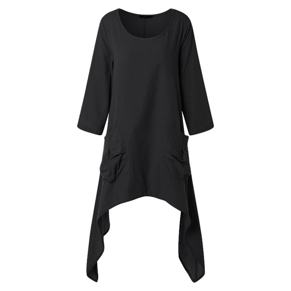 Oversized O Neck Tunic