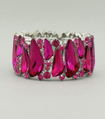 Crystal Stretch Bangle