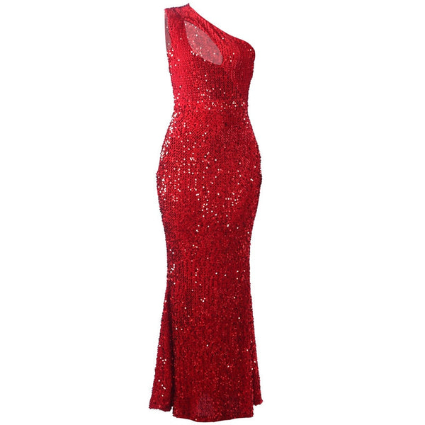 Dazzling Red Elegant Dress