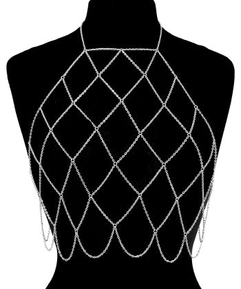 Wide Net Body Chain