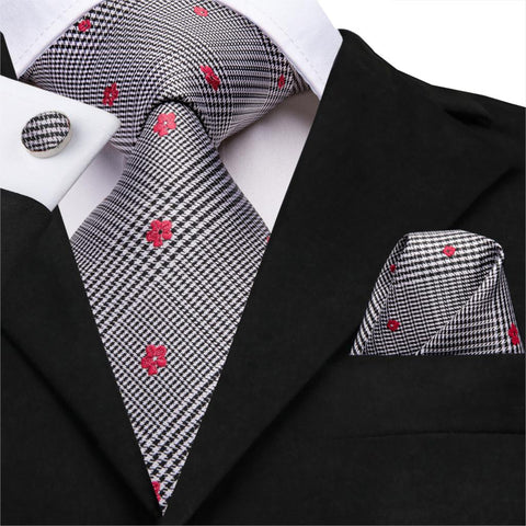 Cranberry Delight Neck Tie Sets